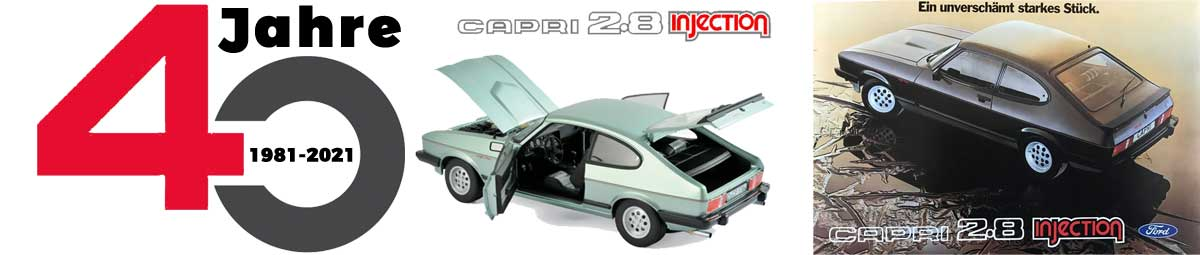 Top-Thema: 40 Jahre Ford Capri 2.8 injection